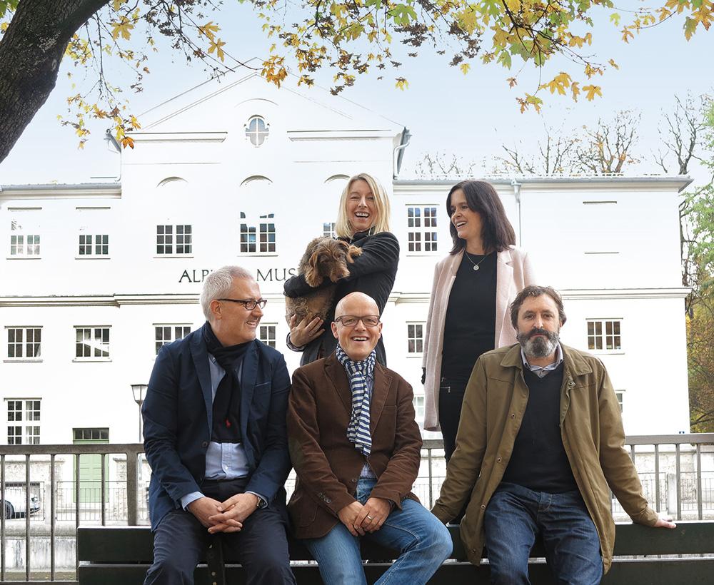 Das ist das neue ALPS-Team: (v.l.n.r.) Stefan Pabst, Michaela Hammel, Michael Hannwacker, Nina Simson und Wolfgang Buß