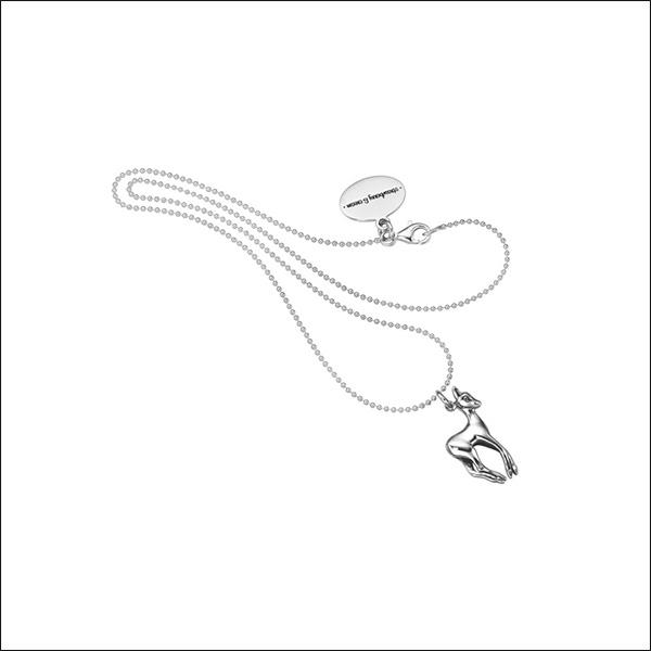 ALPS Edition Rehkitzkette aus 925er-Silber