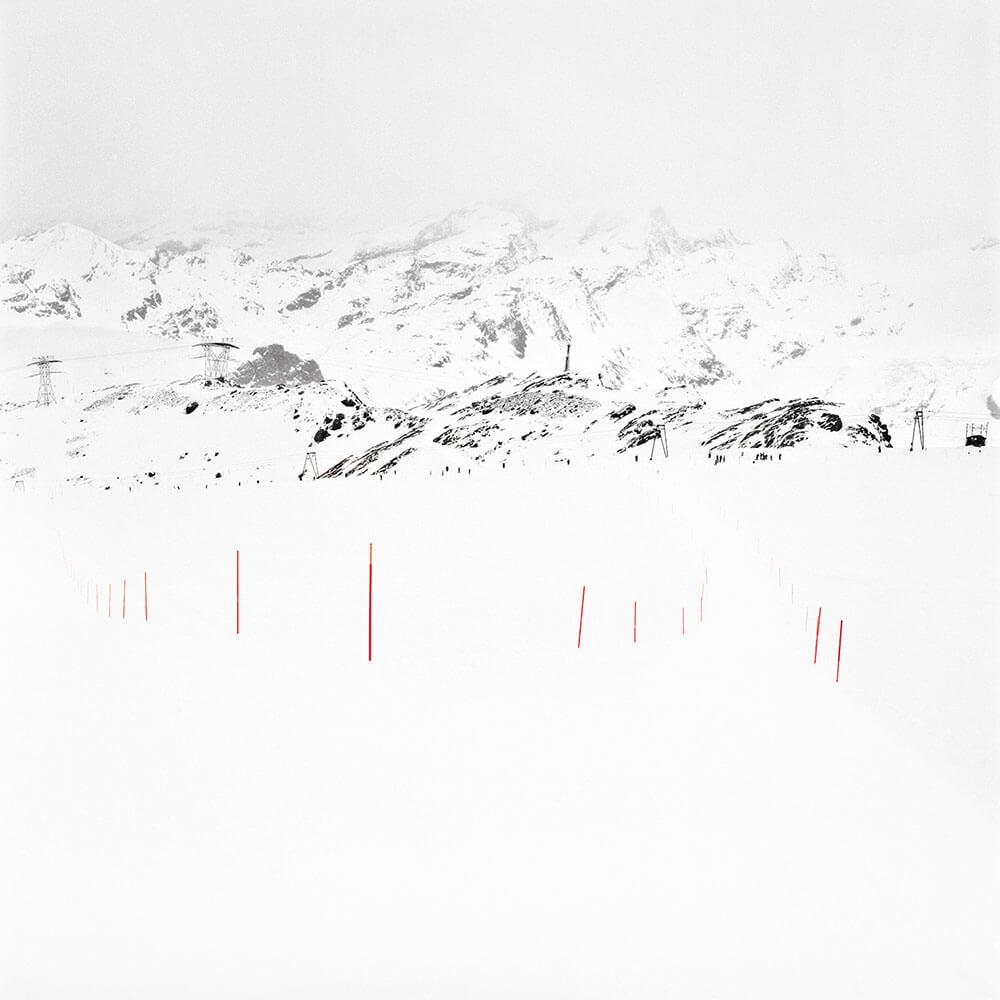 François Schaer | Jours Blancs, Zermatt, 2013 | 100 x 100 cm | Edition 5 & 1AP