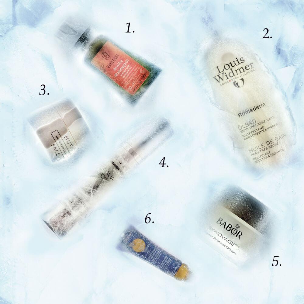 In der kalten Jahreszeit braucht die Haut besonders viel Liebe. Mit diesen Hautpflege Produkten bleibt sie Ihnen treu
