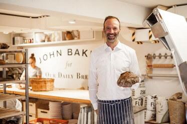 Jens Jung gründete mitten in Zürich die Bäckerei John Baker