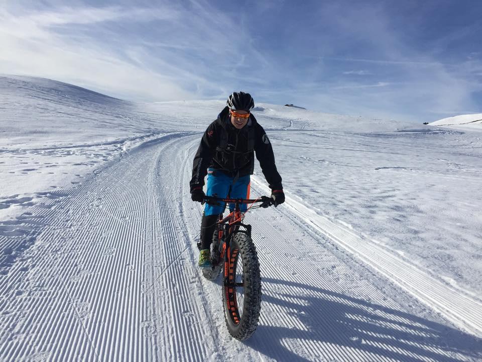 Fatbike: Mit dem Mountainbike auf die Skipiste