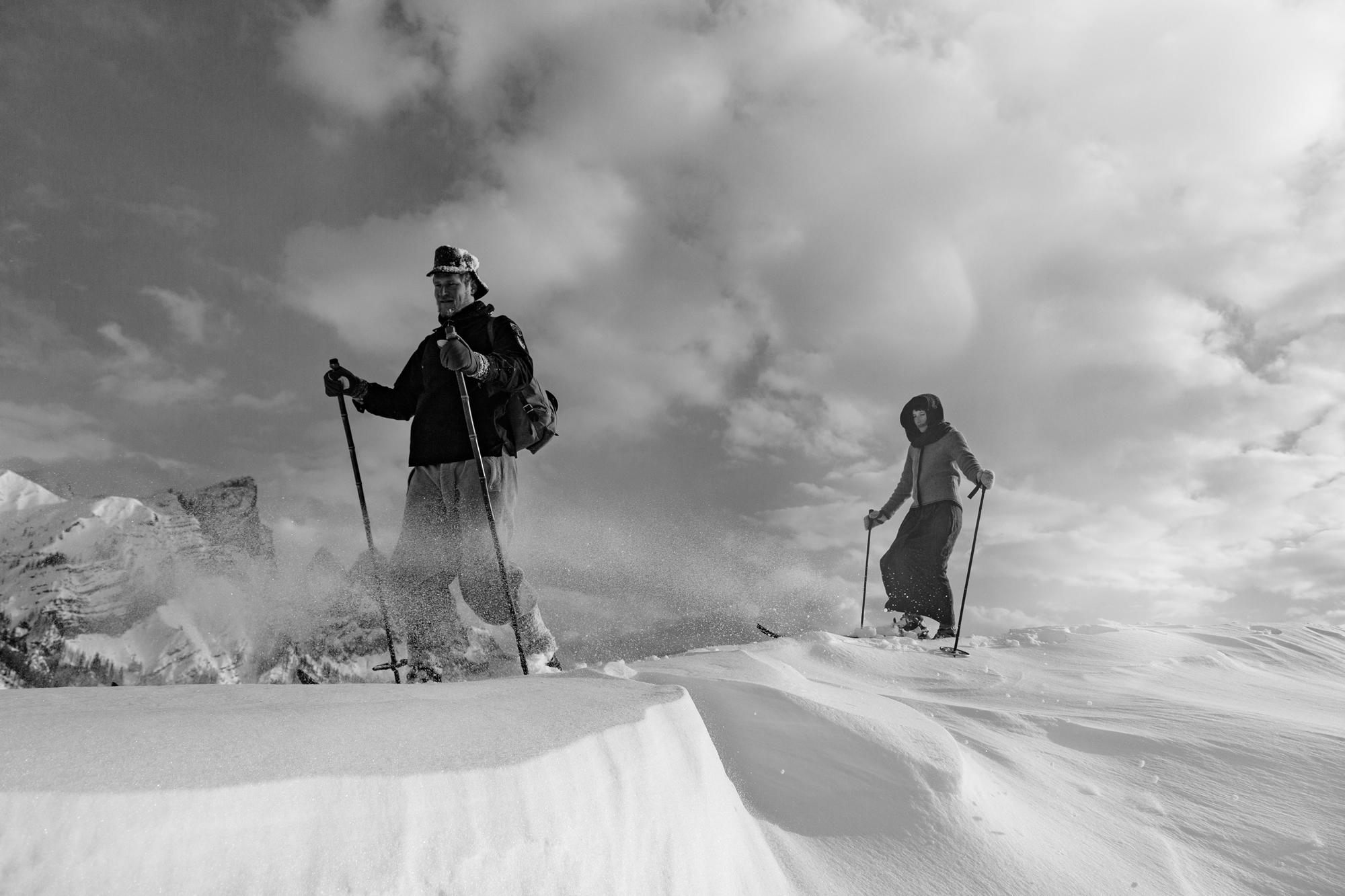Zitat: Andrew Irvine, junger Skirennfahrer und Gründungsmitglied des Kandahar Ski Club, bringt das neue Sportgefühl um 1923 leidenschaftlich zum Ausdruck. // (Aus: Lunn Arnold, The Kandahar Story, George Allen & Unwin Ltd., London 1969, zitiert nach Max D. Amstutz, Die Anfänge des alpinen Skirennsports, AS Verlag & Buchkonzept AG, Zürich 2010, S. 97) © Foto: Franz Walter