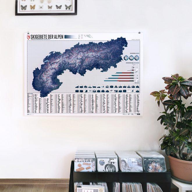 Alpenskikarte – Marmota Maps