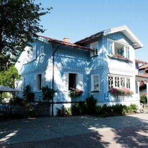 Romantische Einkehr: das Blaue Haus serviert köstliche Jausen in Oberstaufen