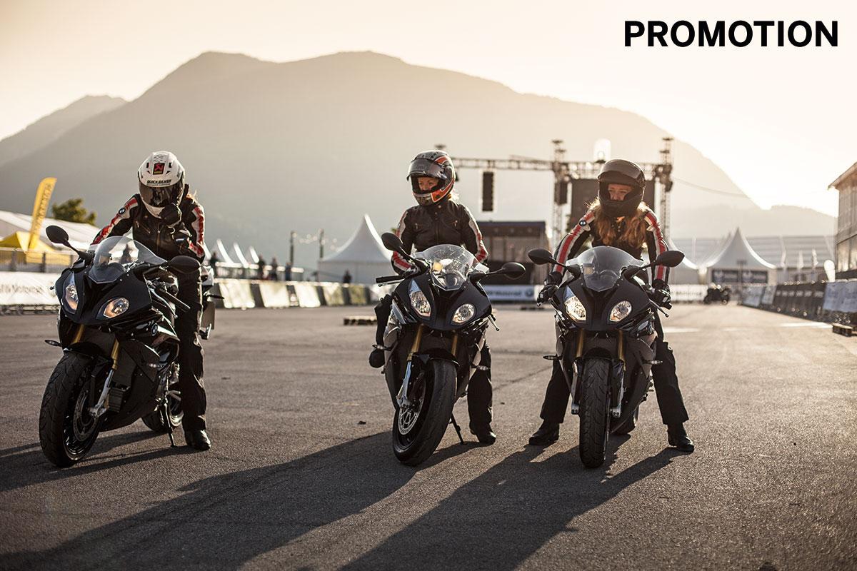 Aufsteigen und Gas geben: Im Juli wird Garmisch-Partenkirchen wieder Ziel von tausenden Motorradfahrern. BMW Motorrad Days 2016 in Garmisch-Partenkirchen