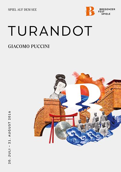 Bregenzer Festspiele Turandot Plakat