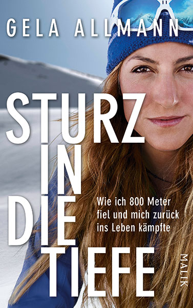 Gela Allmann Buch Sturz in die Tiefe