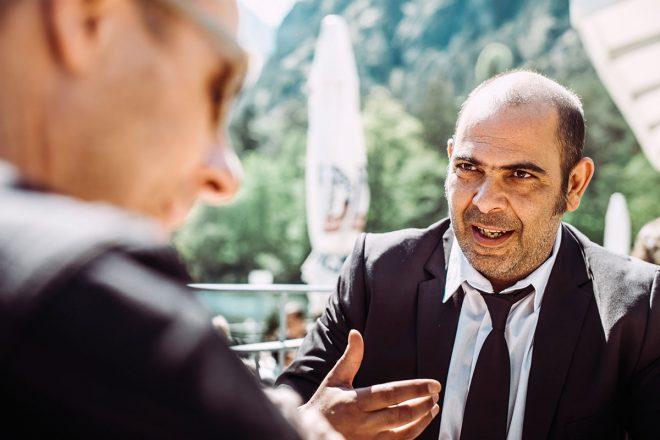 ALPS-Autor Klaus Mergel sprach mit Multitalent Hannes Ringlstetter über Heimatsound, Dialekt und die bayerische Kultur