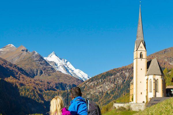 Alpe-Adria-Trail. E2 Heiligenblut mit Großglockner
