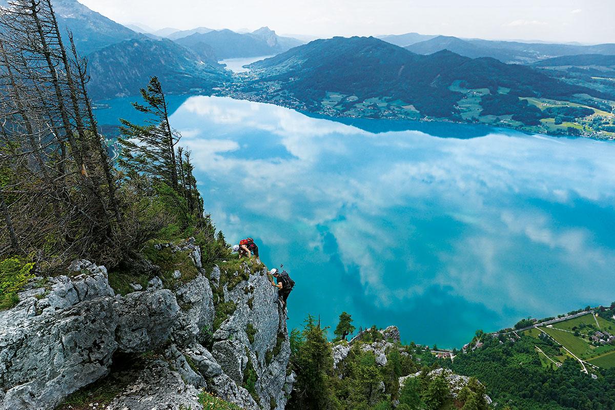 Klettersteig Basel : Klettersteige weltweit