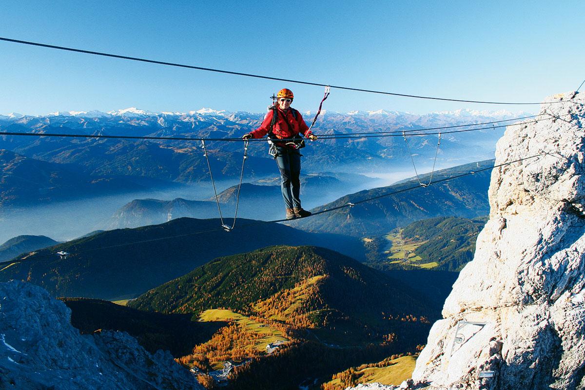 Klettersteig Saulakopf : Klettersteig tourentipp großer koppenkarstein alps magazine