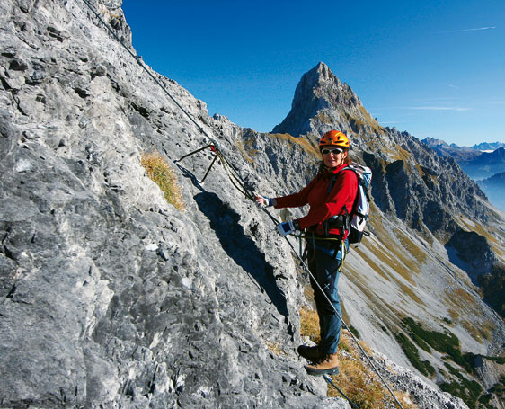 Klettersteig-Tourentipp Saula