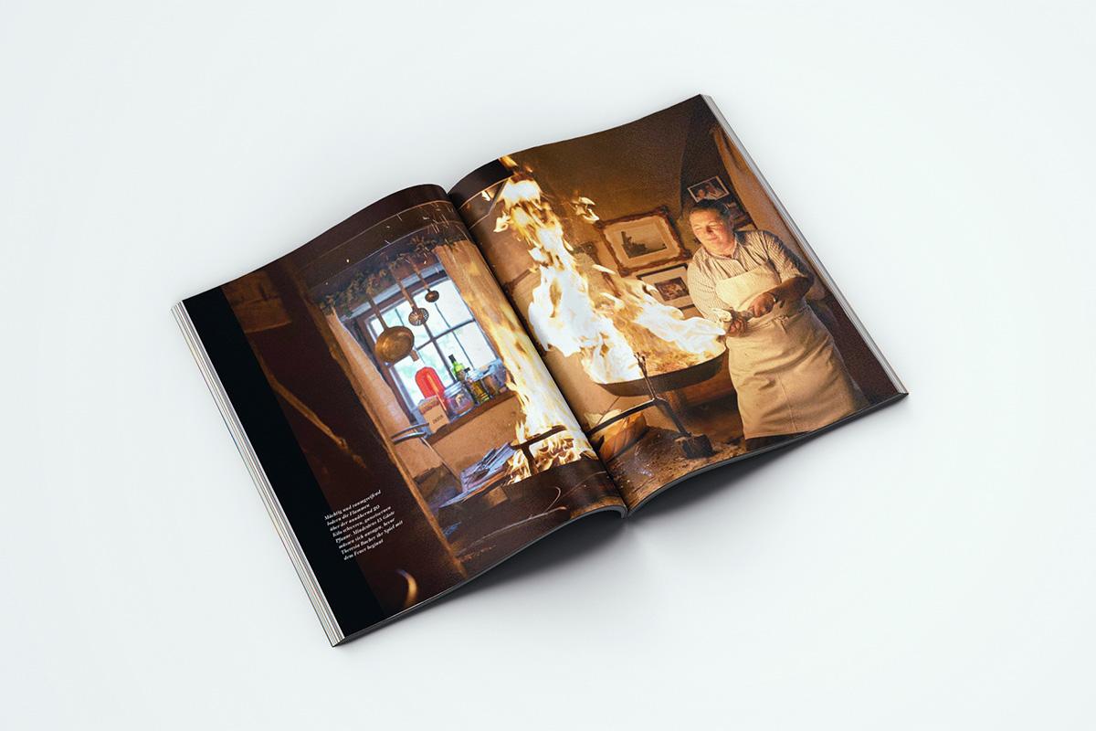 Theresia Bacher kocht in ihrer Rauchkuchl noch so, wie man seit Jahrhunderten in den Alpen gekocht hat. Die Küche der Alpen ... und Ihre Geschichten