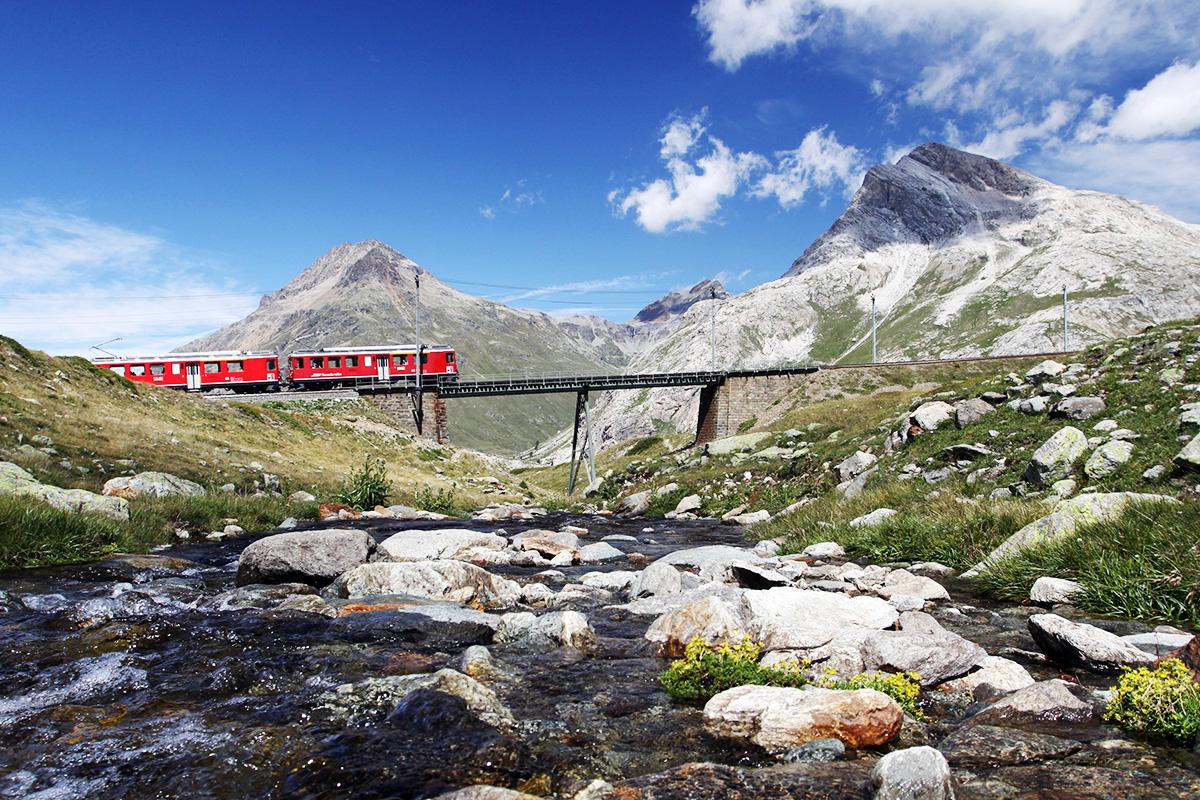Rhaetische Bahn. swiss-image.ch/Marco Hoffmann