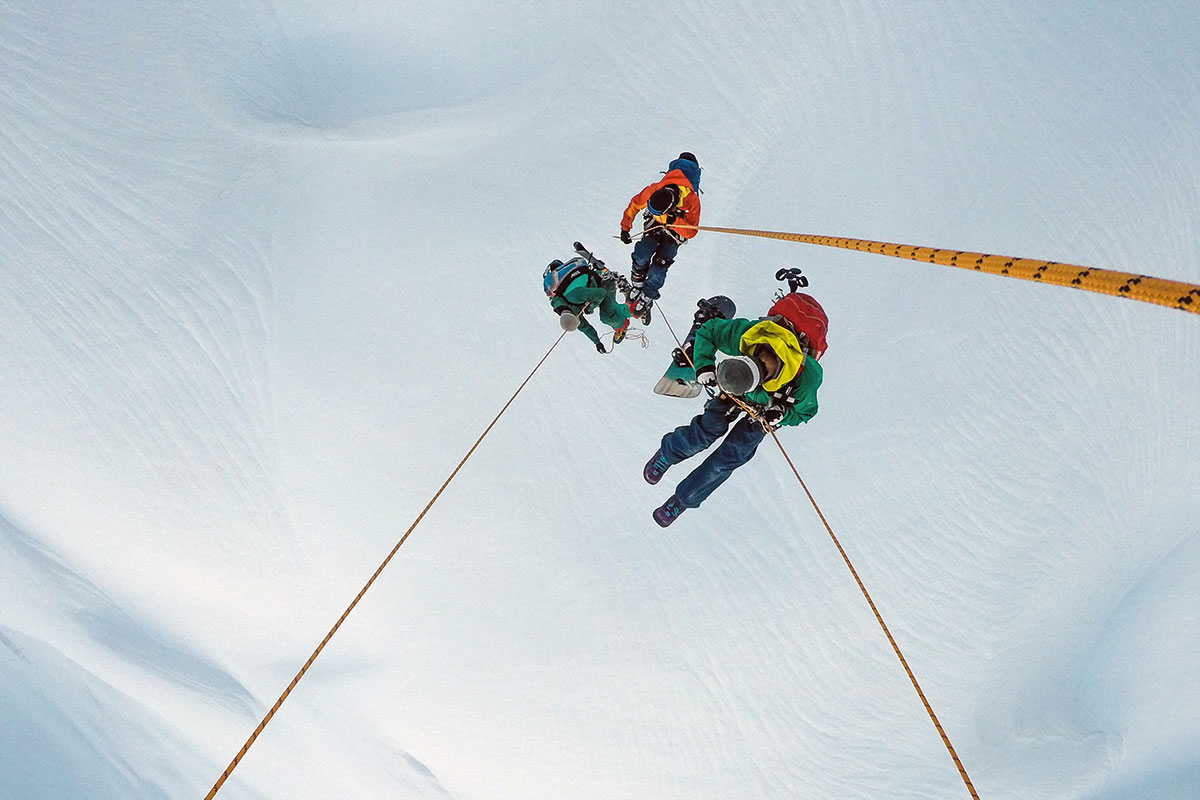 Balloonskiing Heimschnee