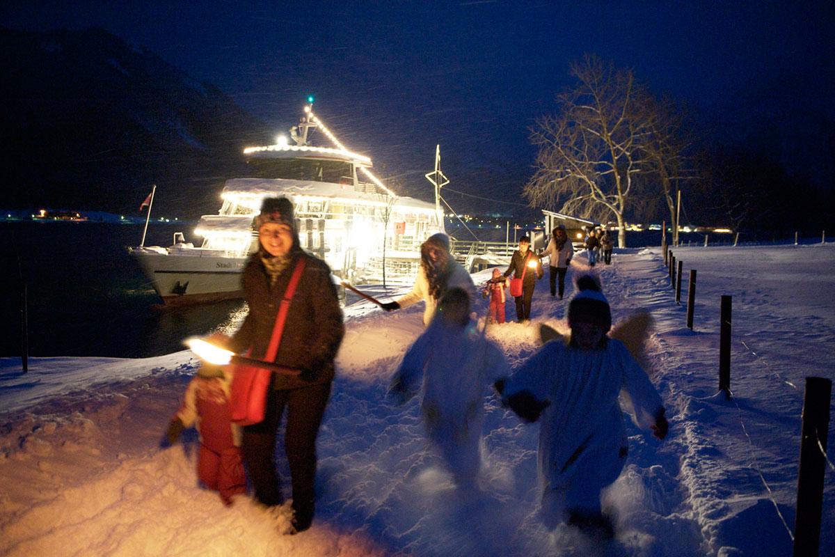Acht der schönsten Adventmärkte in Tirol. Achensee: Weihnachten am Wasser