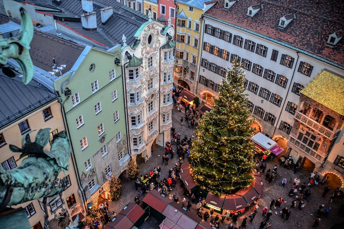 Acht der schönsten Adventmärkte in Tirol. Innsbruck: Christkindlmarkt Altstadt