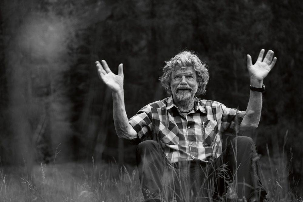 """Reinhold Messner – Der Hüter der Berge. """"Das Glück passiert in den Momenten, in denen wir etwas tun"""""""