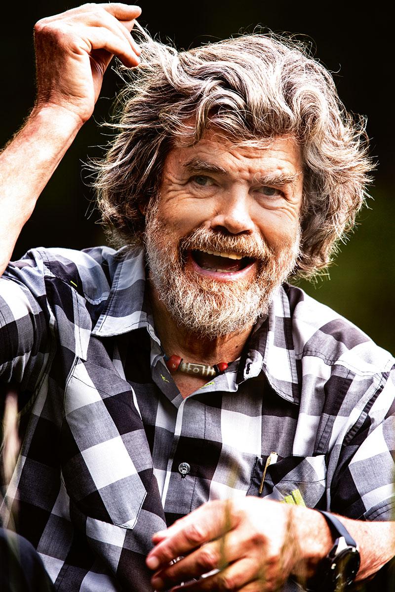 """Reinhold Messner – Der Hüter der Berge. """"Unsere Fantasie ist nicht so stark wie die Realität"""""""
