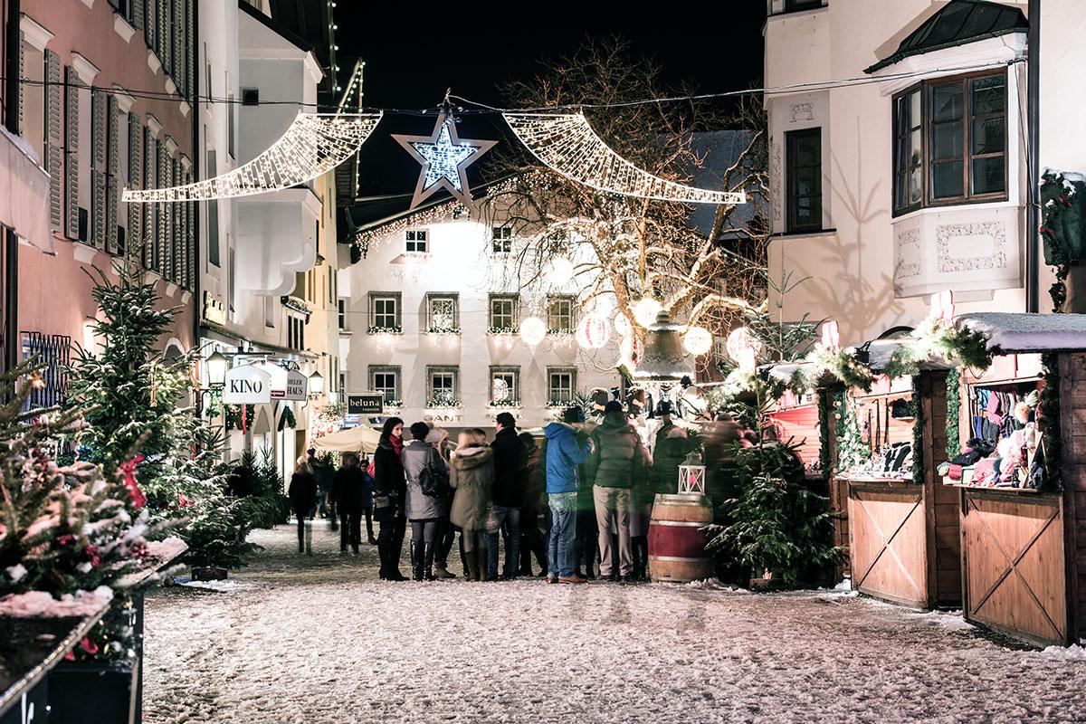 Acht der schönsten Adventmärkte in Tirol. Kitzbühel: Musikalischer Advent