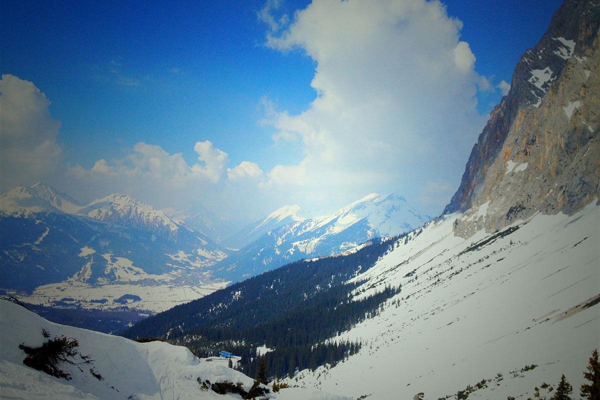 Skigebiete – Mehr Snow-How. Ehrwalder Alm, Ehrwald.
