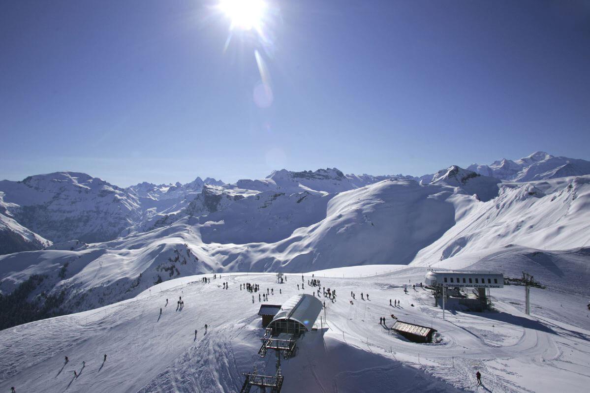 Skiresort Flaine – Merci Marcel