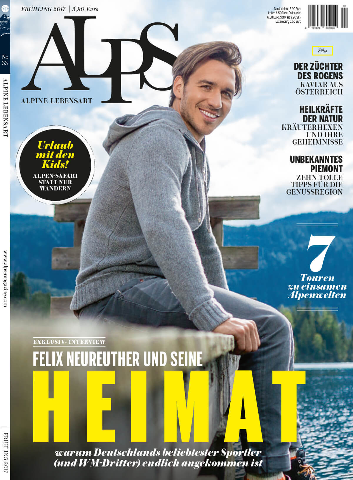 ALPS #33 Cover // WINTER 2016/2017