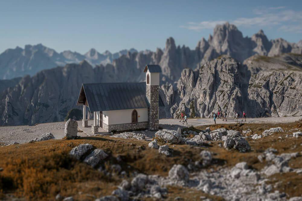 Die Drei Zinnen – Cappella degli Alpini