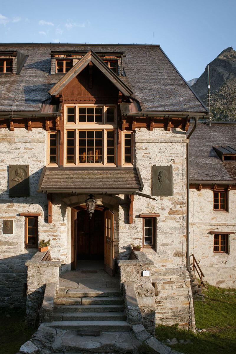 Seit 1997 steht die Berliner Hütte unter Denkmalschutz. Die Berliner Hütte – ein Prachtbau aus der Gründerzeit