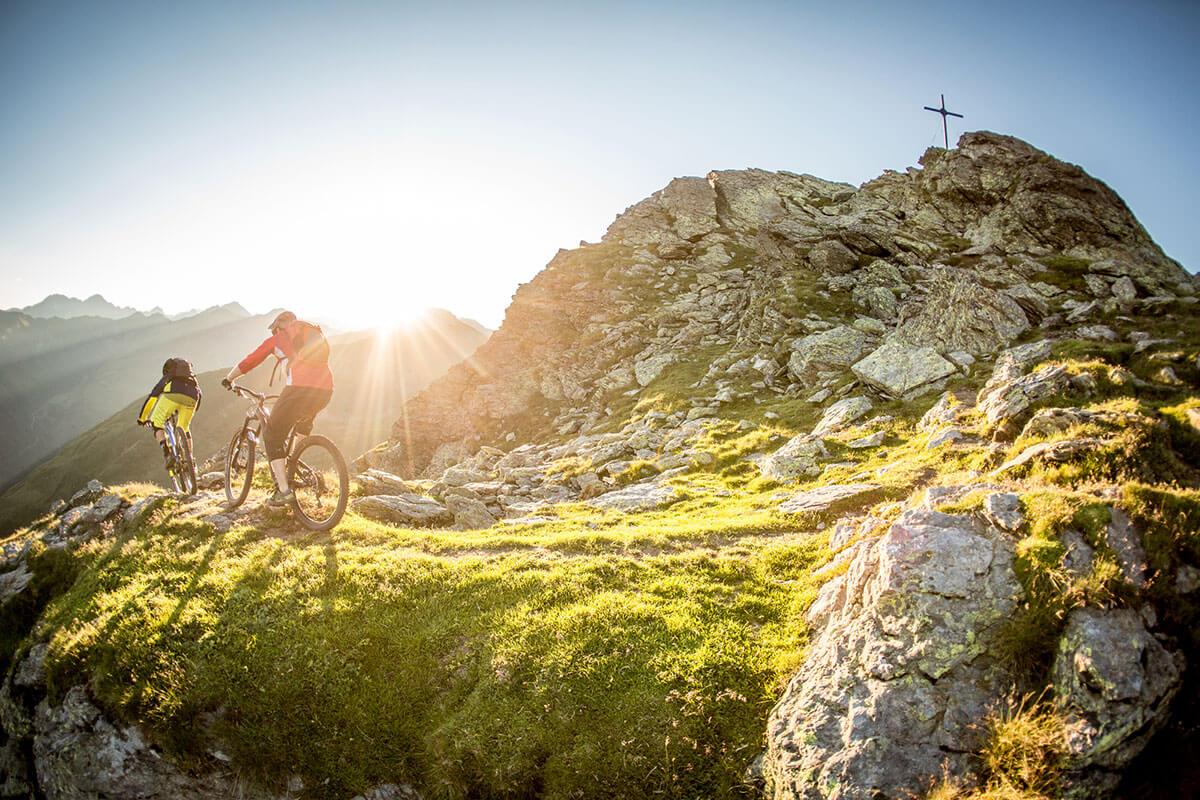 Biken zwischen Großglockner & Dolomiten