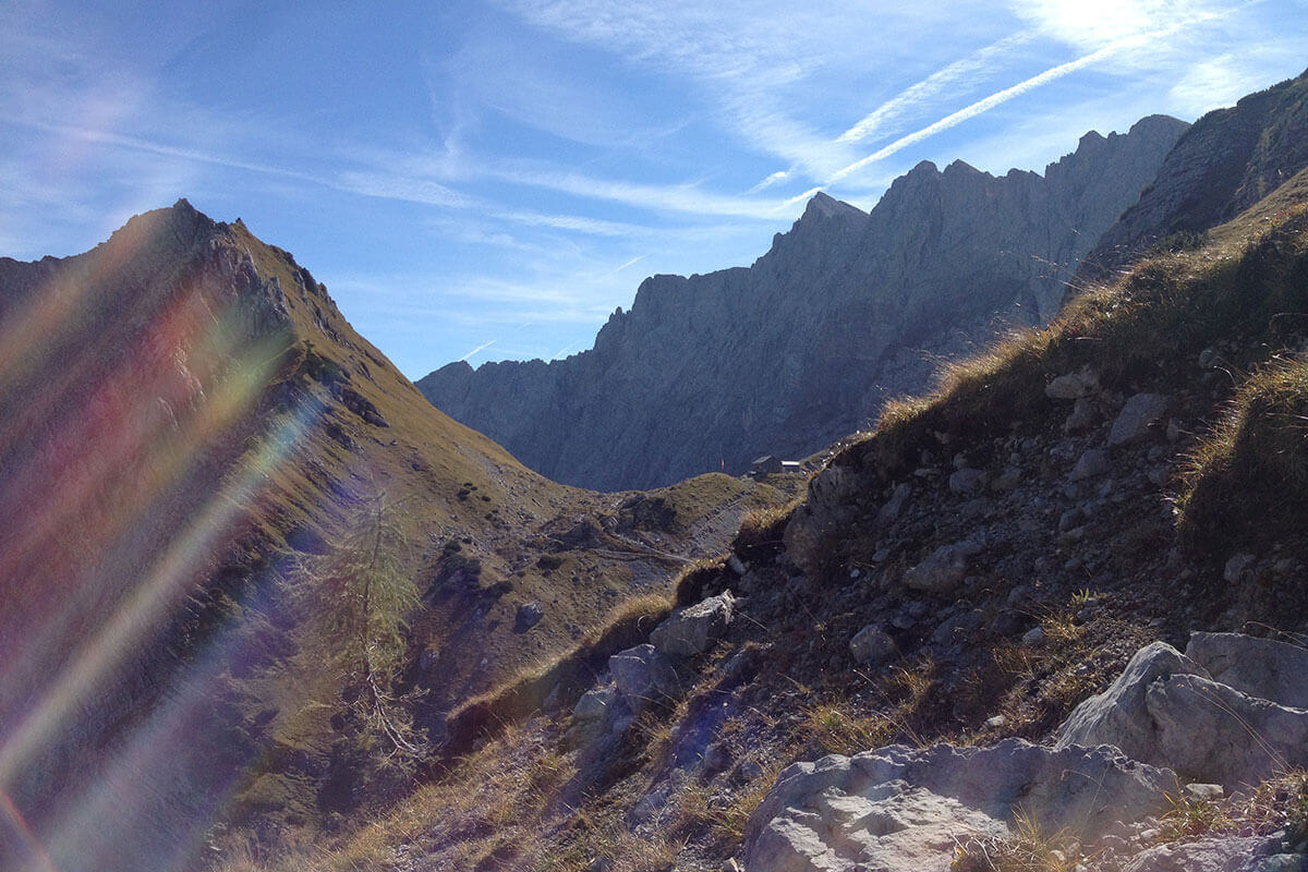 Berghütten – Hoch hinaus. Lamsenjochhütte