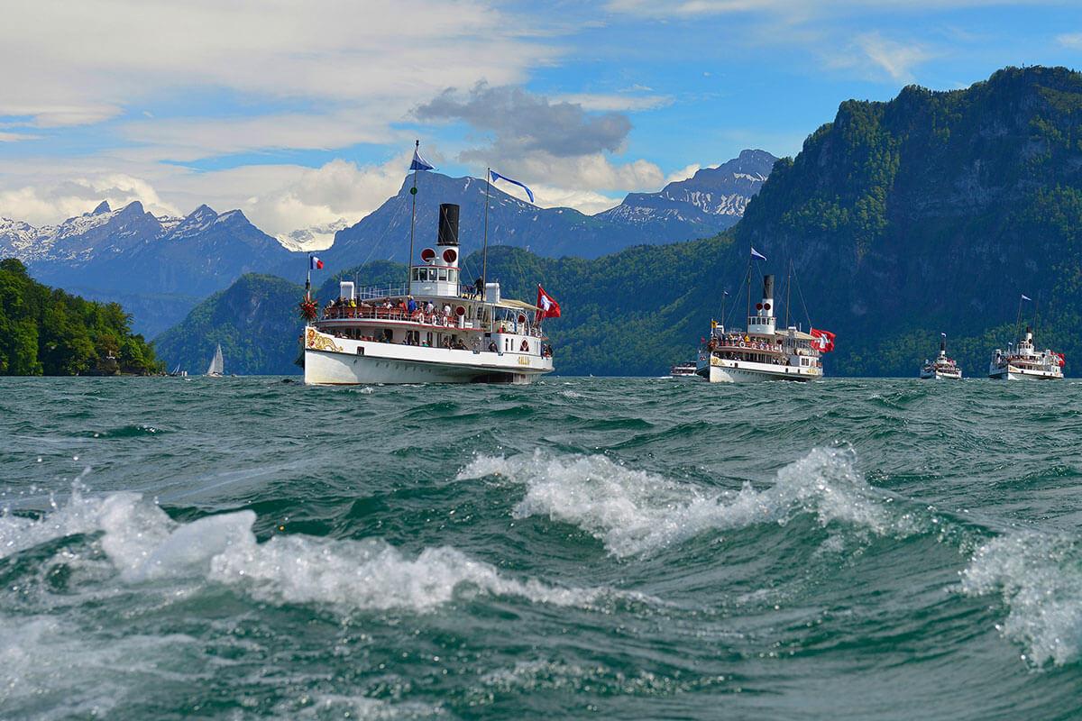 Kulinarische Seefahrten – Essen wie Gott in Luzern