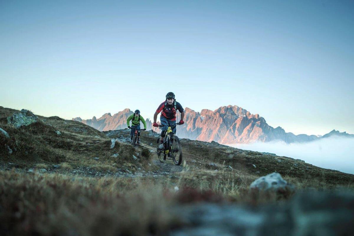 Dolomitenregion Drei Zinnen – Gipfel, Grate, Endorphine für Mountainbiker