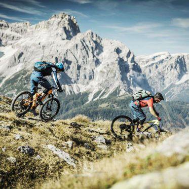 Biken in der Dolomitenregion Drei Zinnen