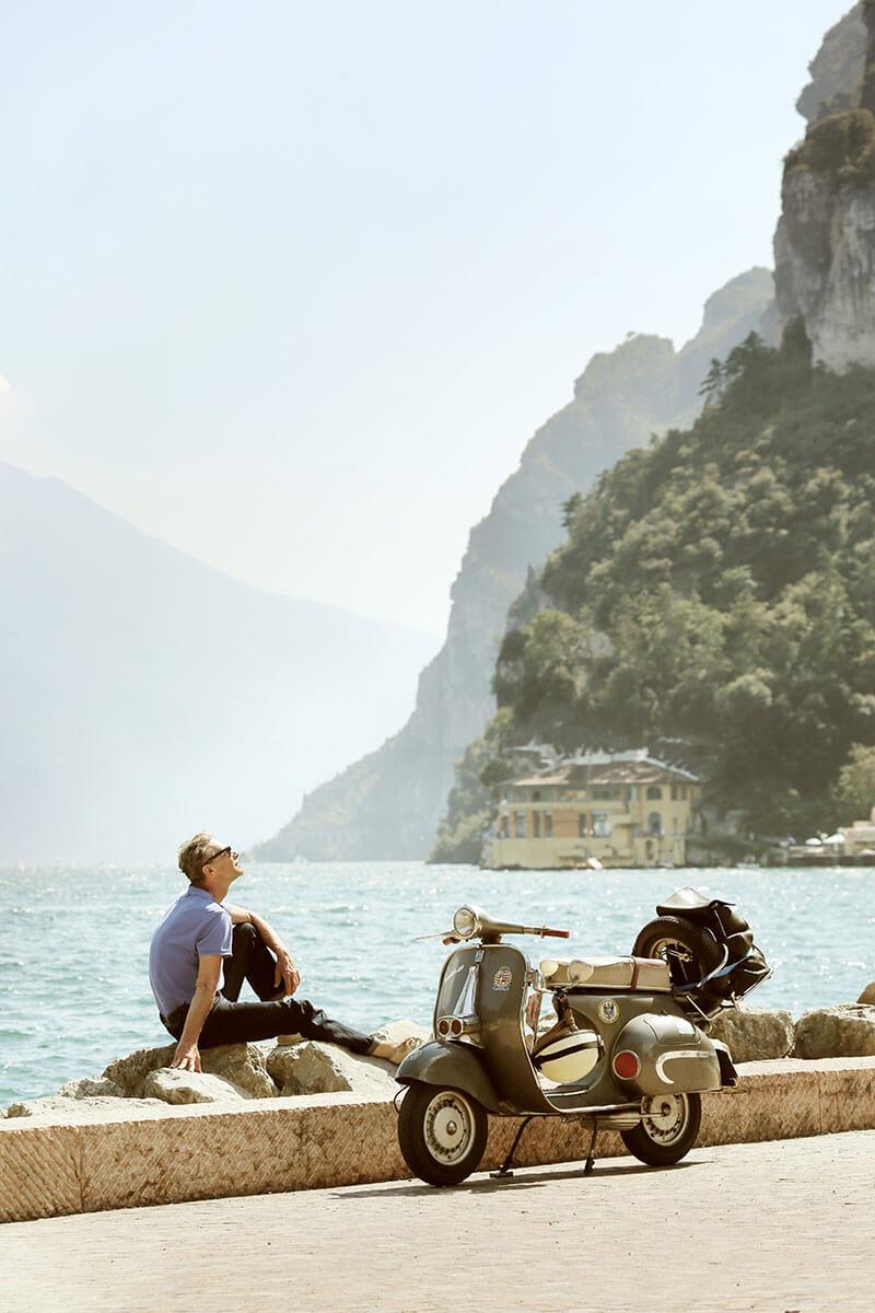 Über alle Berge – mit einer historischen Vespa auf Alpentour