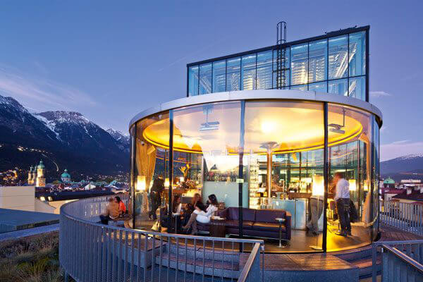 Café 360 Grad. Cityguide - Das ist in in Innsbruck