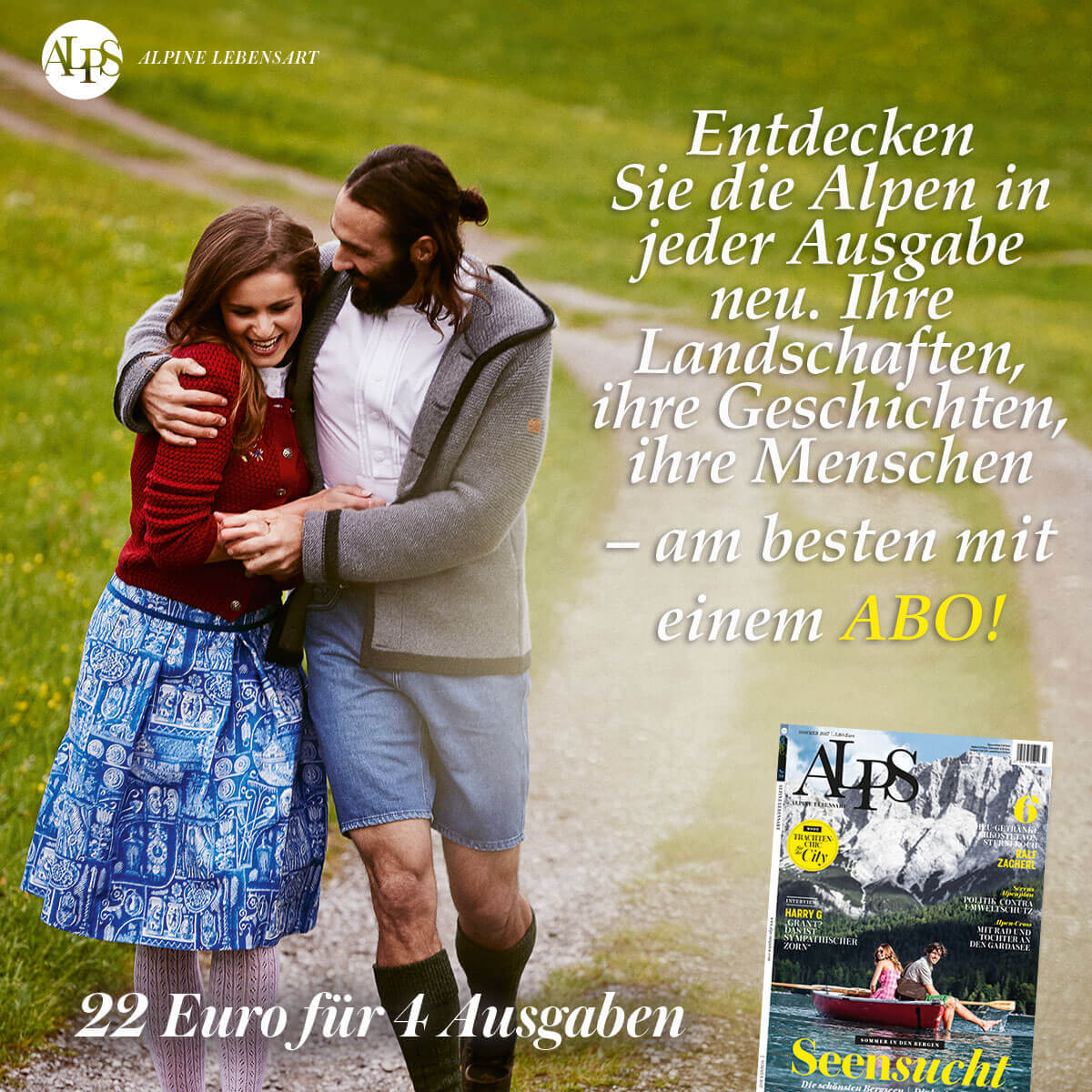 ALPS Magazin Sommer 2017 Abonnement