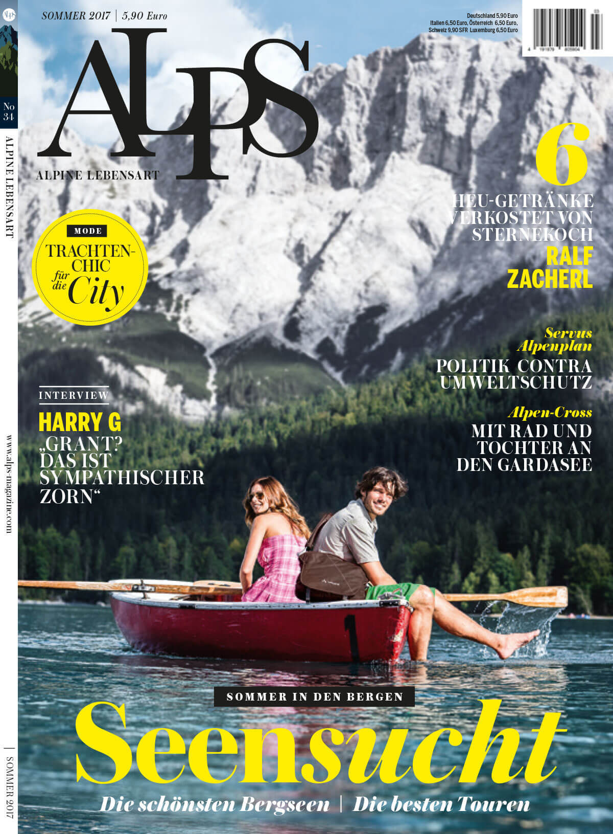 ALPS #34 Cover // SOMMER 2017