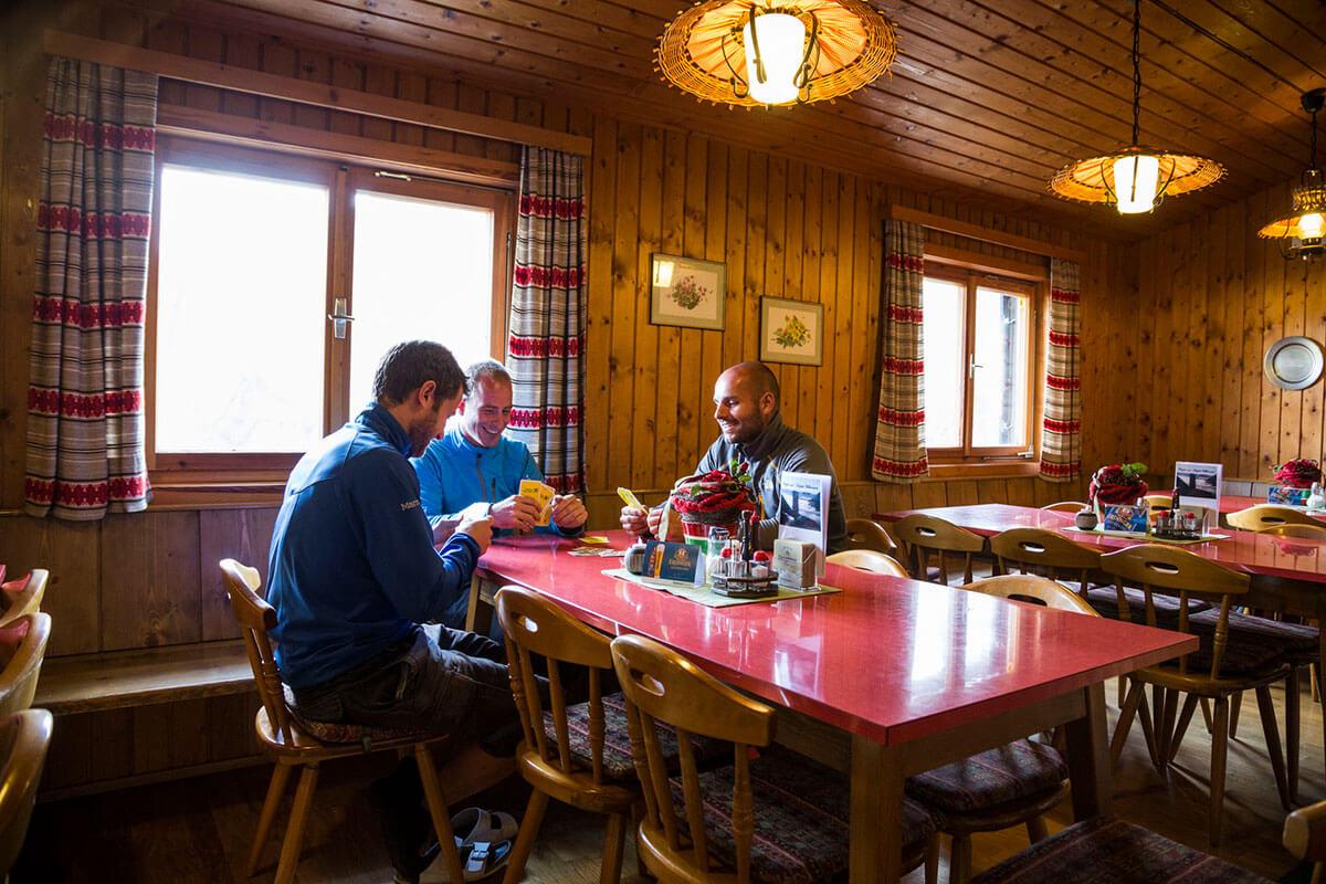 Das Württemberger Haus – fünf Stunden Aufstieg zur Outdoordusche