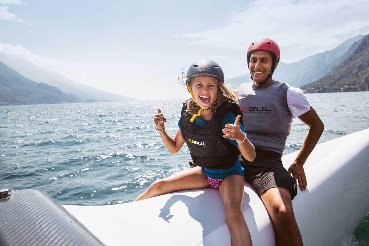 Alpensafari. Spaß auf dem Gardasee