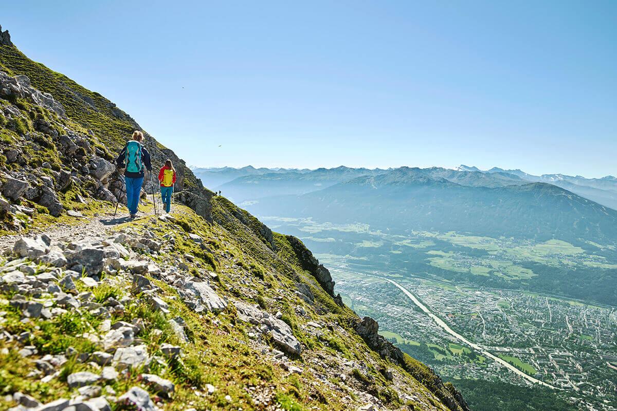 Die fünf schönsten Wandertouren in und um Innsbruck