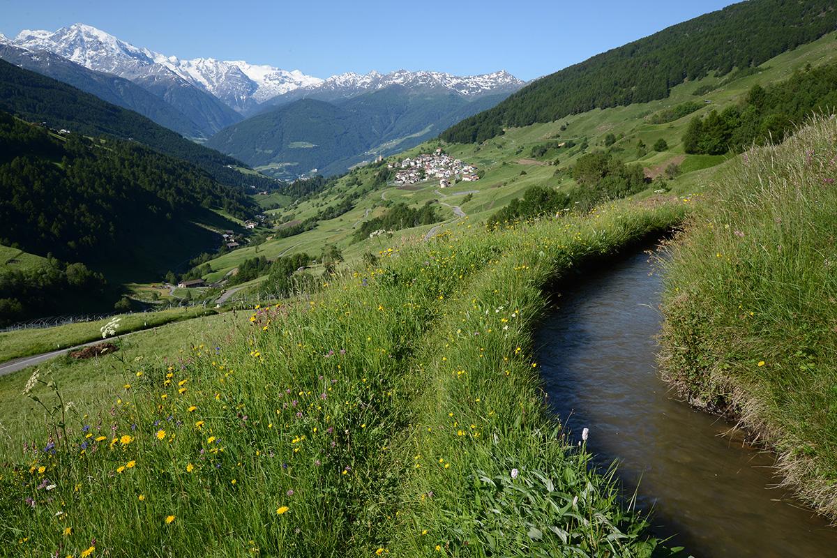 Bergsteigerdörfer ohne Grenzen. Das zukünftige Bergsteigerdorf Matsch in Südtirol