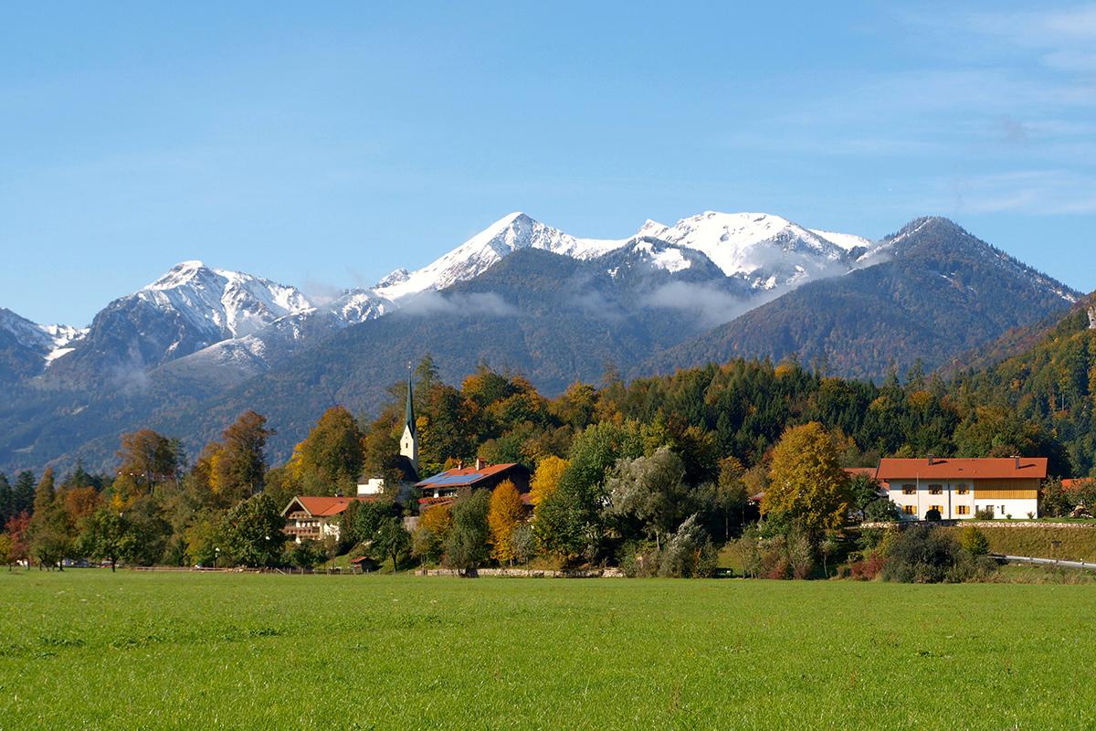 Bergsteigerdörfer – wo die Alpen noch ursprünglich sind. Schleching im Chiemgau