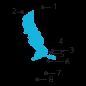 Tegernsee – Gut's von der Hand. Tegernsee Karte 2