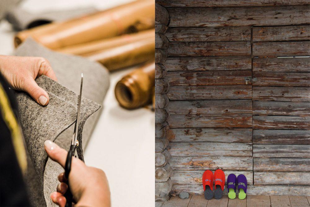 Filz ist Natur pur. Echter Wollfilz wird aus reiner Schafswolle hergestellt und ist extrem haltbar. Die schuppenartige Oberfläche der Schafshaare verhakt sich beim Walken so fest, dass bei Ausgrabungen fast 4000 Jahre alte Filzmützen gefunden wurden.
