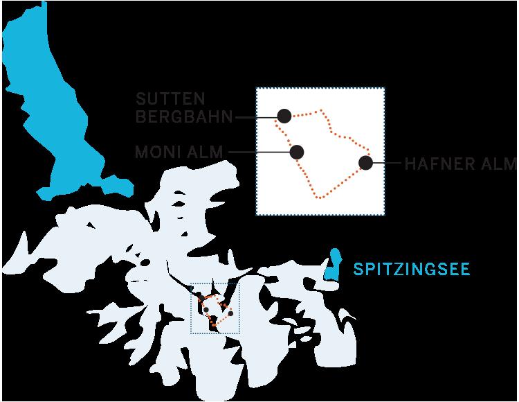 Aufi geht's! Schneeschuhwandern am Tegernsee. Tour 1 Sutten Bergbahn, Moni Alm, HAfner Alm