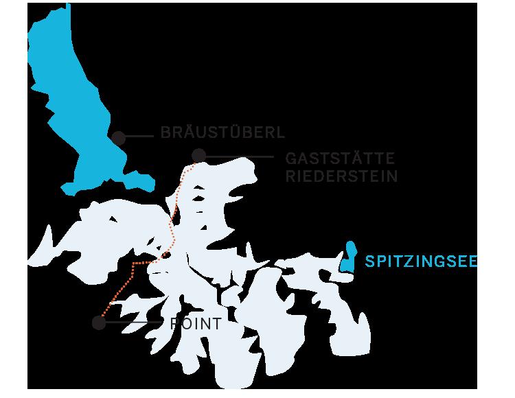 Aufi geht's! Schneeschuhwandern am Tegernsee. Tour 2: Brästüberl, Riederstein, Spitzingsee