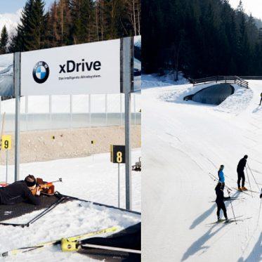 Biathlon – Starke Gewehrleistung. Olympia-Niveau Für Alle. Der Gästebiathlon wird in Seefeld ganzjährig angeboten