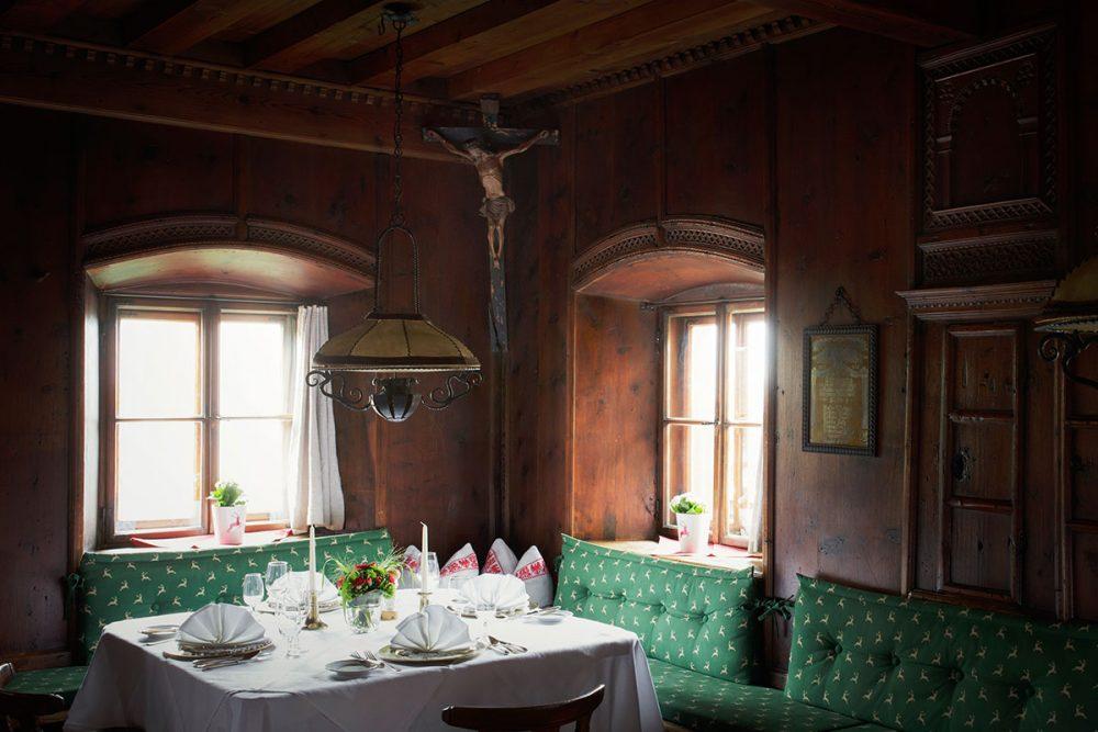 Tiroler Stube – Heimeliges unterm Hergottswinkel Böglerhof Fuggerstube